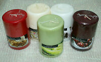 """1-Pillar Candle 3"""" x 4"""" Scented~Long BurnTime~Different Scents U Choose~USA-Made"""