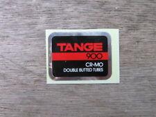 Tange 900 Cro Mo Bike Bicycle Vintage Frame Tube Decal Sticker Not Remade!!