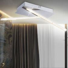 Design Plafonnier LED bureau kristallleuchte Argent 840 Lumen Spot
