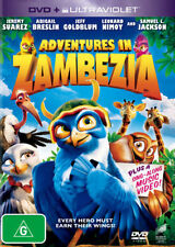 Adventures In Zambezia DVD Movie BRAND NEW R4
