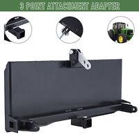 Skidsteer 3 Point Attachment Adapter Skid Steer Trailer Hitch Fron t Loader Case
