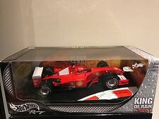 Ferrari F2001 King of Rain M. Schumacher scale 1:18 Hotwheels with box