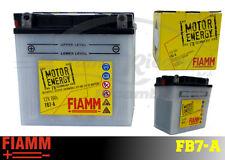 FB7-A BATTERIA MOTO FIAMM MOTOR ENERGY YUASA  YB7-A /12N7-4A 8Ah 80A  + LIQUIDO