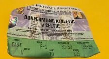 More details for celtic f.c - match tickets  - scottish cup final - dunfermline - 22-05-2004