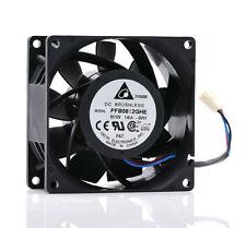 DELTA PFB0812GHE 8038 12V 1.02A 8CM 3 pin high air volume server fan