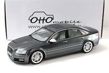 1:18 otto AUDI a8 s8 d3 Grey 2008 NEW per PREMIUM-MODELCARS