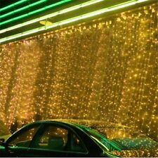 5 x 3M 500 LED Outdoor Curtain String Light Christmas Xmas Party Fairy Wedding