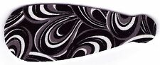 Black and white swirl eye patch - Light weight - comfortable to wear