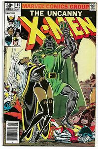 UNCANNY X-MEN#145 VF/NM 1981 MARVEL BRONZE AGE COMICS