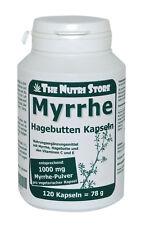 Myrrhe 1000 mg Hagebutten Kapseln 120 Stk. mit Vitamin C und E - PZN: 13417612
