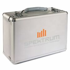"Spektrum Surface RC Transmitter Radio ""Lay Down"" Aluminum Carrying Case SPM6713"