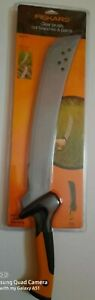"""FISKARS 24"""" machete w/ sheath.clearing brush and cutting branches and palms."""