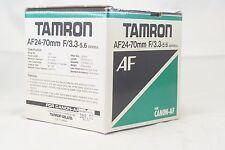 empty lens box for Tamron 24-70mm f3.3-5.6 Aspherical lens for Canon AF 73DE