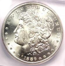 1886-S Morgan Silver Dollar $1 Coin - ICG MS65 - Rare in MS65 - $2,160 Value!