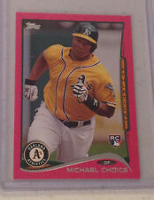2014 Topps Mini MICHAEL CHOICE Pink RC #13/25 Made Athletics Online Exclusive