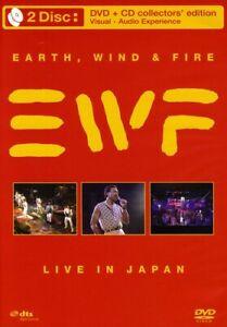 Earth, Wind & Fire - Live In Japan (DVD, 2008, DVD/CD Combo)
