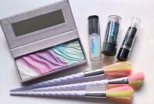 Fairy Tale Makeup Set Eye Palette Brushes Glitter Lipstick Highlighter