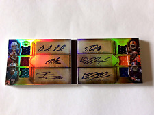 2012 Topps Triple Threads Auto book w(6x autos) Andrew luck, Robert Griffin 111