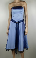 ALFRED ANGELO Strapless Occasions Dress Sz 12 - Buy 5 Items = FREE POST #1242