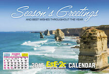 2 X 2019 Easy to See A4 Wall Calendar Big Print - Allen's Ese-2c 4267