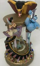 Disney Aladdin Large Hourglass Snow Globe-No Flaws with Original Box
