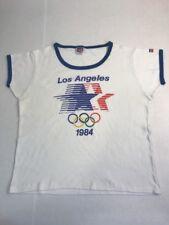 c7fadf2260cb VTG Levis 1984 Olympics T-Shirt Los Angeles USA LA 80s Ringer