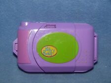 VINTAGE POLLY POCKET 1998 CAMERA FUN PLAYSET 3 FIGURES/DOLLS WITH WORKING LIGHT