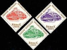 Australia Poster Stamps - 1954 REDeX Auto Reliability Trials - Set of 3      (A)