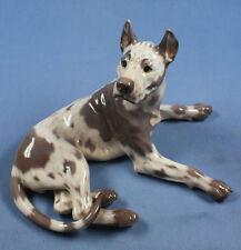 dogge great dane hundefigur hund Porzellanfigur Royal copenhagen