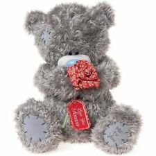 "Me to You LARGE Valentines Day 40cm 16"" Tatty Teddy Bear Holding Red Rose"