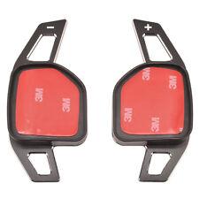 Aluminum Shift Paddle Gear Extensions For AUDI A3 A6 Q5 Q7 A7 A8 S6 SR4 SR6 R8