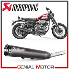 Exhaust Stainless Steel Approved Muffler Akrapovic Yamaha SCR 950 2017 > 2019