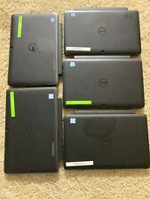 Lot Of 5 Dell Latitude 5175 10.8in. Convertible 2in1 m3 128gb Ssd 4gb Ram Laptop