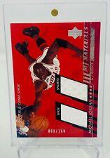 2000 -01 Upper Deck Michael Jordan MJ Materials Game Shoe Shorts Patch /100 MJ5