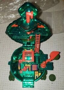 *RARE* Vintage Tmnt Metalized Leonardo Mini Mutant Playset Ninja Turtles Micro