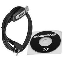 2-Pin Programing Cable Program Software CD for Baofeng UV-5R BF-888S Radio TOP