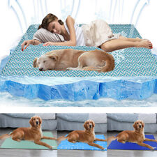 Extra Large Cooling Bed Dog Magic Sleep Cooling Gel Mat Summer Hot Weather Pads