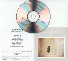 LAURA MARLING Semper Femina 2017 UK watermarked & numbered 9-track promo CD