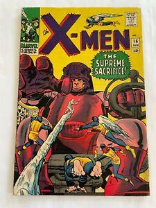 WOW! X-MEN #16 (1966) 3rd Sentinels - Around GD