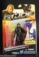 Hasbro GI Joe RETALIATION Cobra Commander VARIANT  NIP