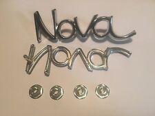 1969-1972 Nova Fender Emblems ***NEW U.S.A MADE*** 69 70 71 72 **FREE SHIPPING**