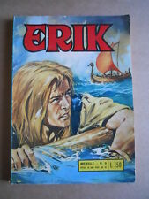 ERIK Il Vichingo Collana Mister X n°3 1969 edizioni Alhambra  [G402]