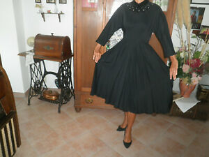 40er Jahre-Kleid Original/ Vintage/ S