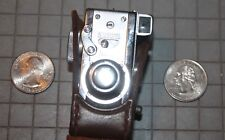 "Steky subminiature 16mm ""Spy"" Camera Vintage Model III with original case"