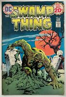 SWAMP THING 13 / DC English / 5.0 FINE / 1974