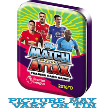 Topps Match Attax 2016 2017 16 17 collector tin (inc 45 cards + limited edition)