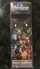 MARVEL The Avengers Stereo Headphones Earbuds 3.5 mm Stereo 4 ft Cord 2012 New
