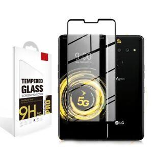 3D Curved Full Screen Cover LG Velvet,V50,Wing Tempered Glass Screen Protector
