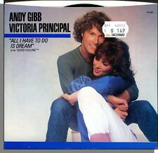Andy Gibb & Victoria Principal - All I Have To Do is Dream - 45 RPM PS Single!
