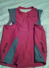 Orca Cycling sleeveless women's medium red/black/white top GUC